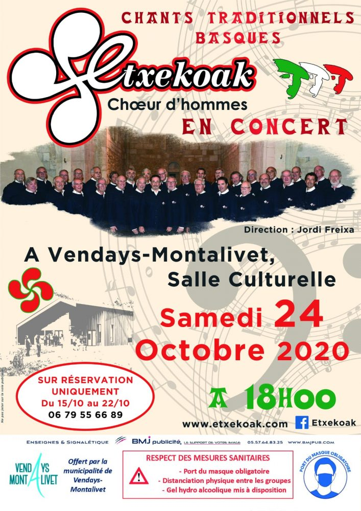 Concert à Vendays-Montalivet
